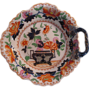 "English ""Stone China"" Dish ca 1825"