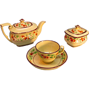 Partial Early Toy Tea Set circa 1825