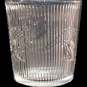 Ribbed Ivy Tumbler ca. 1860