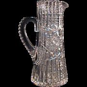 Libbey Cut Glass Champagne Pitcher ca. 190