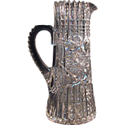 Libbey Cut Glass Champagne Pitcher ca. 190
