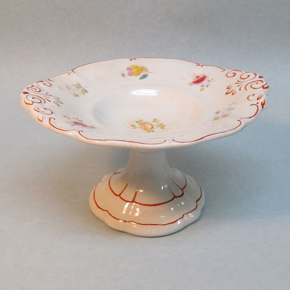 Decorated Ironstone Mini Compote