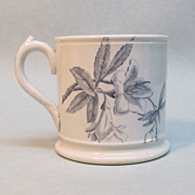 Mug with Aesthetic Transfer circa 1875