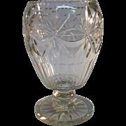 Anglo/Irish Cut Glass Vase