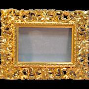 Vintage Italian Gilt Frame