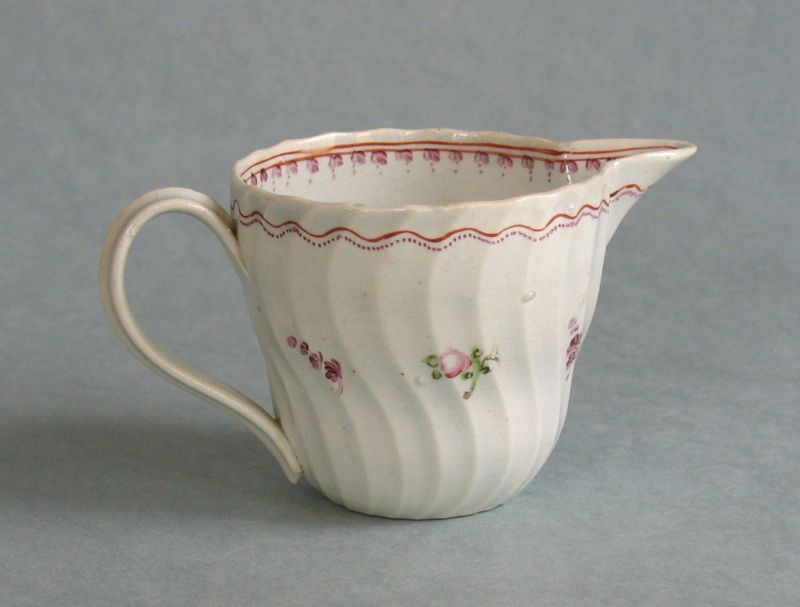 Decorated Pearlware Creamer ca. 1800