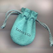 Genuine Vintage Tiffany Chamois Gift Bag