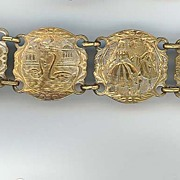 Early Metal Tourist Bracelet