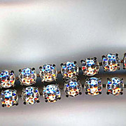 Double Row Clear Rhinestone Bracelet