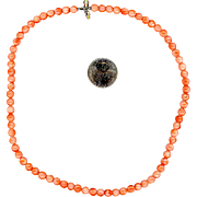 "18 1/2"" Natural Coral Necklace"