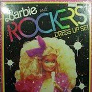Still Sealed in Original Cello, Barbie and the Rockers Colorforms, 1986!