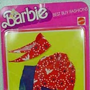 NRFC Mattel Barbie Bicentennial Best Buy Outfit #9161 from 1976.
