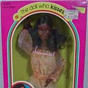 NRFB Mattel Kissing Christie Doll, Pristine Mint, 1979!