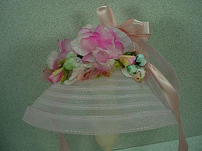 "Original Madame Alexander Hat for 21"" Agatha Portrait Doll, 1979-80."