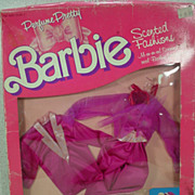 Mattel Mint in the Box Perfume Pretty Barbie Scented Fashion #4622, 1987!
