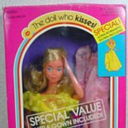 Mattel 1978 Kissing Barbie Gift Set!
