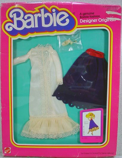 "NRFB Mattel Barbie Designer Originals Outfit, ""Fun ' Fancy, 1981"