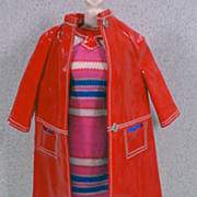 "Mattel Barbie outfit, ""Fashion Shiner"", near mint and complete, 1967!"