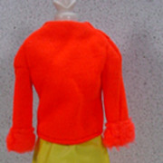 Mattel Barbie Outfit, Hurray For Leather, 1969, Complete!
