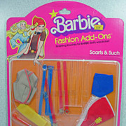 Mattel 1978 Barbie Fashion Add-Ons, NRFC!