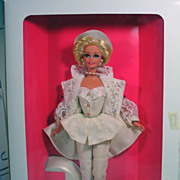 NRFB Mattel Uptown Chic Barbie Doll, Classique Collection, 1993!