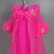 Mattel Barbie 1968 Outfit Dreamy Pink, Mint and Complete.