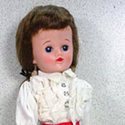 Vogue 10 ½ Inch Jill Doll in Original Toreador Pants Outfit, 1957.