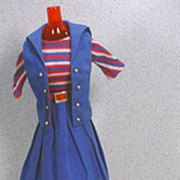 Mattel Barbie Outfit, Aboard Ship, 1965, Excellent and Complete!