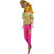 Blond Color Magic Barbie in Fashion Fun Outfit, Mattel, 1966!