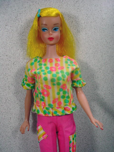 Blond Color Magic Barbie In Fashion Fun Outfit Mattel 1966 From Fourtyfiftysixty On Ruby Lane