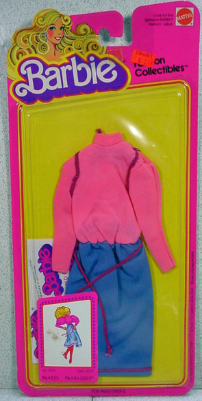 1979 Mattel NRFC Barbie Fashion Collectible Outfit #1003