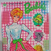 Whitman Barbie Boutique Paper Dolls, Mint, Uncut, 1973!