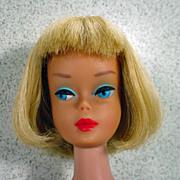 Mattel High Color Long Hair Blond American Girl Barbie, 1966