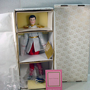 NRFB Cinderella Prince Charming, Franklin Heirloom Dolls