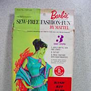 MIB 1965 Mattel Barbie Sew Free Fashion, Hootenany