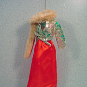 Mattel Barbie Get-Ups 'N Go Outfit, Party Dress, Complete, 1974