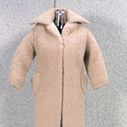 Mattel TM Barbie Outfit Peachy Fleecy Coat, 1959!