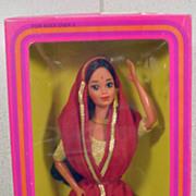 NRFB Mattel India Barbie, 1981