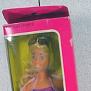 NRFB Mattel Sunsational Malibu Barbie, 1981!