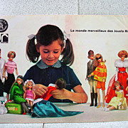 Rare French Mattel Barbie and Toys Catalogue Mid 1960's!