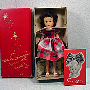 MIB, Cosmopolitan Miss Ginger Fashion Doll, 1957.