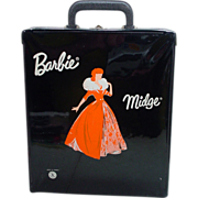 Rare VIntage Mattel French Barbie/ Midge Case, 1960's!