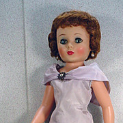 """American Character 20"""" Toni Doll in Cocktails Bubble Dress, 1958!"""
