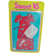 MOC Mattel Barbie Sweet 16 Outfit #9558, 1976