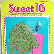 MOC Mattel Barbie Sweet 16 Outfit #9556, 1976