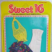 Mattel NRFC Barbie Sweet 16 Outfit #9559, 1976