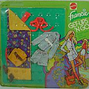 NRFC Mattel Francie Get-Ups'N Go Camping Outfit, 1974