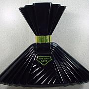 Tita Rossi Noir Large Black Factice Bottle of the Perfume