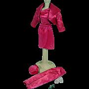 Vintage Mattel Barbie Outfit, Satin 'n Rose, 1964