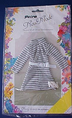 Mint On The Original Card 1960's Petra Fashion Doll Outfit From Germany.
